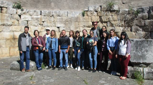 European volunteers of the Holy Diocese of Thebes and Levadia visited Orchomenos